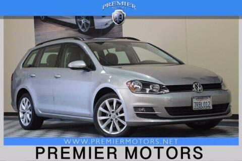 2016 Volkswagen Golf SportWagen for sale at Premier Motors in Hayward CA