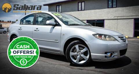 2006 Mazda MAZDA3 for sale at Sahara Pre-Owned Center in Phoenix AZ