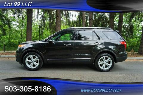 2012 Ford Explorer for sale at LOT 99 LLC in Milwaukie OR