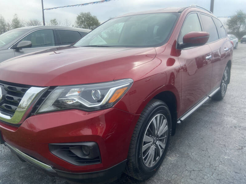 2018 Nissan Pathfinder for sale at EAGLE ONE AUTO SALES in Leesburg OH