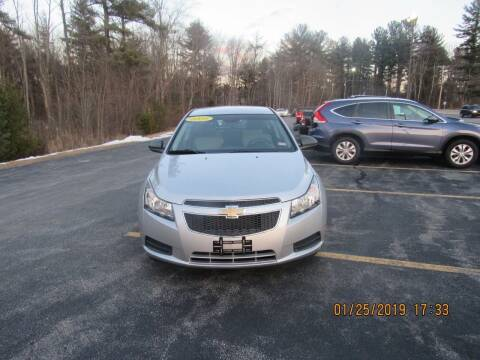 2012 Chevrolet Cruze for sale at Heritage Truck and Auto Inc. in Londonderry NH