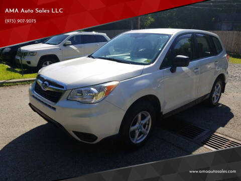 2014 Subaru Forester for sale at AMA Auto Sales LLC in Ringwood NJ