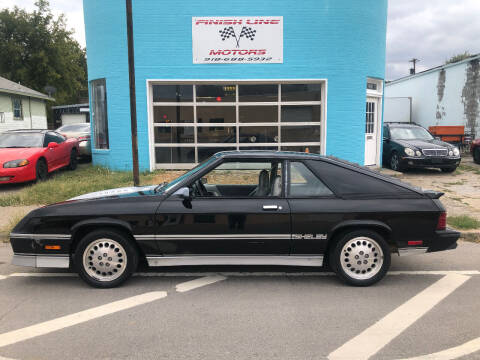 1985 Dodge Charger for sale at Finish Line Motors in Tulsa OK