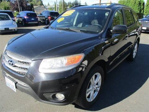 2012 Hyundai Santa Fe for sale at GMA Of Everett in Everett WA