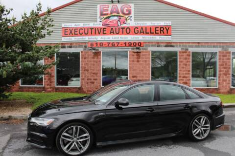 2016 Audi S6 for sale at EXECUTIVE AUTO GALLERY INC in Walnutport PA