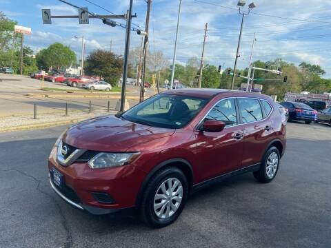 2016 Nissan Rogue for sale at Smart Buy Car Sales in St. Louis MO