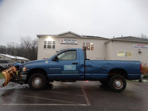 2003 Dodge Ram Pickup 2500 for sale at SOUTHERN SELECT AUTO SALES in Medina OH