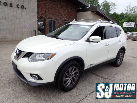 2016 Nissan Rogue for sale at S & J Motor Co Inc. in Merrimack NH