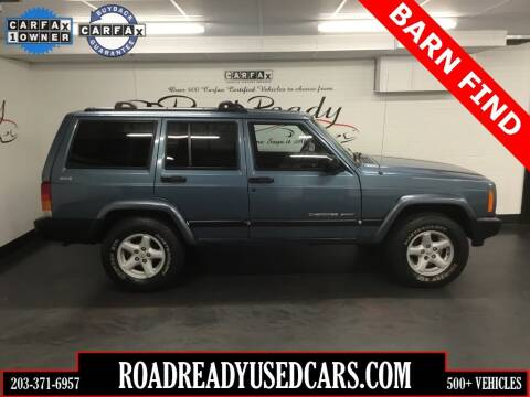1999 Jeep Cherokee for sale at Road Ready Used Cars in Ansonia CT