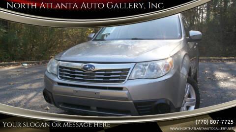2009 Subaru Forester for sale at North Atlanta Auto Gallery, Inc in Alpharetta GA