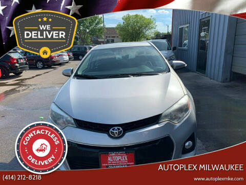 2014 Toyota Corolla for sale at Autoplex in Milwaukee WI