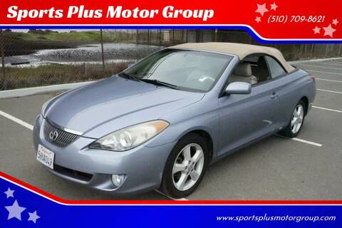 2004 Toyota Camry Solara for sale at Sports Plus Motor Group LLC in Sunnyvale CA