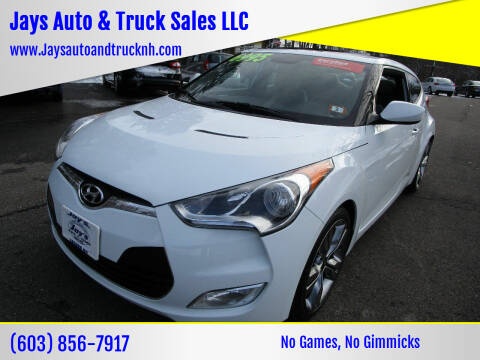 2012 Hyundai Veloster for sale at Jays Auto & Truck Sales LLC in Loudon NH