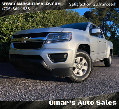 2015 Chevrolet Colorado for sale at Omar's Auto Sales in Martinez GA