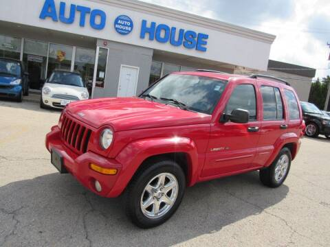2003 Jeep Liberty for sale at Auto House Motors in Downers Grove IL