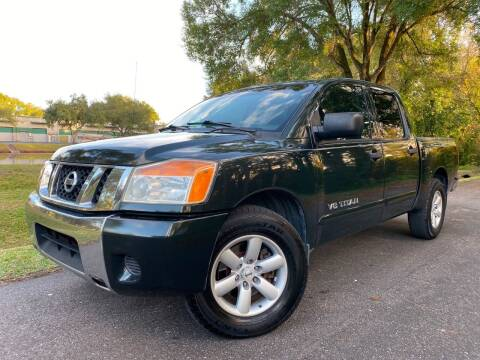 2008 Nissan Titan for sale at Powerhouse Automotive in Tampa FL