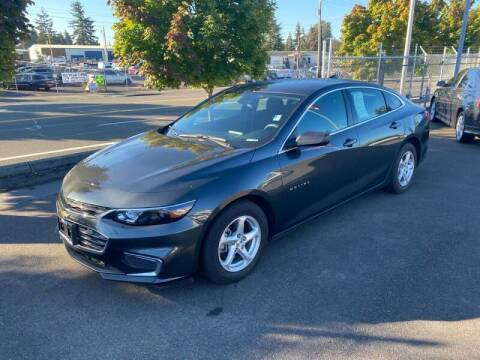 2018 Chevrolet Malibu for sale at TacomaAutoLoans.com in Tacoma WA