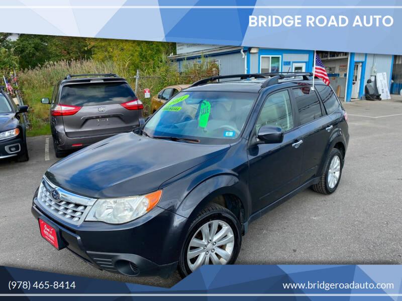 2011 Subaru Forester for sale at Bridge Road Auto in Salisbury MA