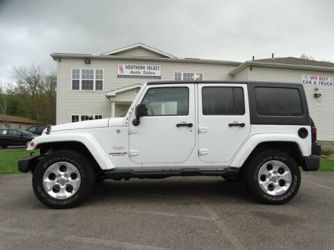 2013 Jeep Wrangler Unlimited for sale at SOUTHERN SELECT AUTO SALES in Medina OH