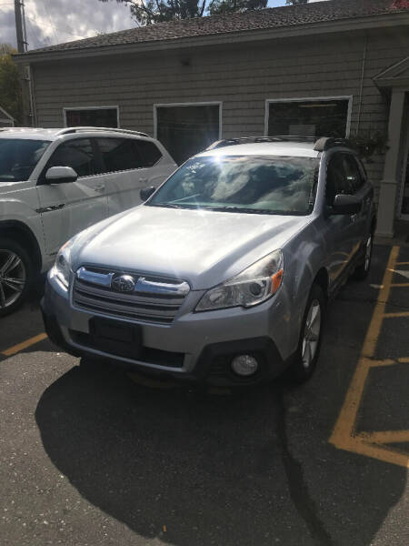 2014 Subaru Outback for sale at P & M AUTO in Springfield VT