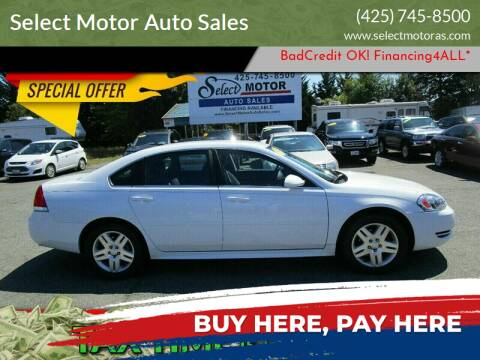2013 Chevrolet Impala for sale at Select Motor Auto Sales in Lynnwood WA