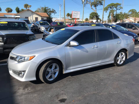 2013 Toyota Camry for sale at Riviera Auto Sales South in Daytona Beach FL