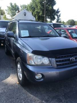 2002 Toyota Highlander for sale at Indy Motorsports in St. Charles MO