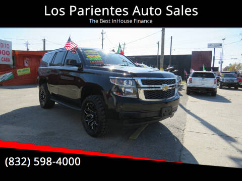 2015 Chevrolet Tahoe for sale at Los Parientes Auto Sales in Houston TX