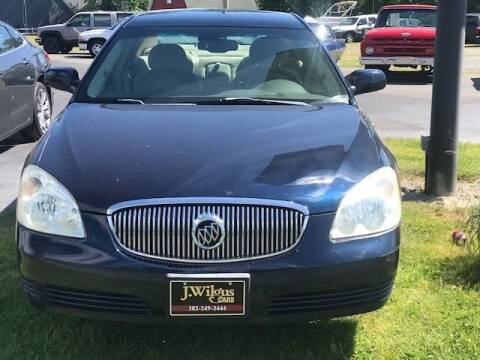 2007 Buick Lucerne for sale at J Wilgus Cars in Selbyville DE