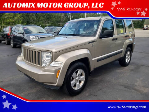 2010 Jeep Liberty for sale at AUTOMIX MOTOR GROUP, LLC in Swansea MA