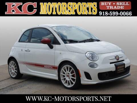 2012 FIAT 500 for sale at KC MOTORSPORTS in Tulsa OK