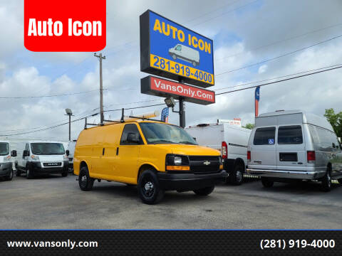 2013 Chevrolet Express Cargo for sale at Auto Icon in Houston TX