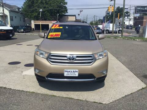 2011 Toyota Highlander for sale at Steves Auto Sales in Little Ferry NJ