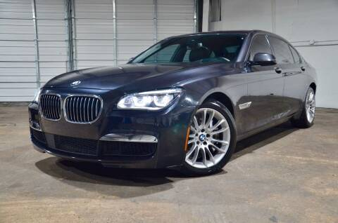 2015 BMW 7 Series for sale at Marietta Auto Mall Center in Marietta GA