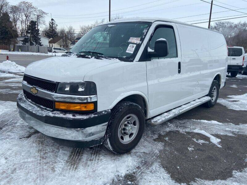 2018 Chevrolet Express Cargo for sale at Groesbeck TRUCK SALES LLC in Mount Clemens MI