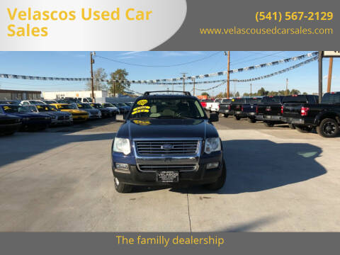 2008 Ford Explorer Sport Trac for sale at Velascos Used Car Sales in Hermiston OR