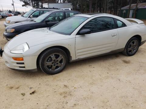 2003 Mitsubishi Eclipse for sale at Northwoods Auto & Truck Sales in Machesney Park IL