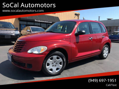 2008 Chrysler PT Cruiser for sale at SoCal Automotors in Costa Mesa CA