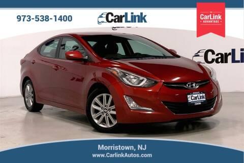 2016 Hyundai Elantra for sale at CarLink in Morristown NJ