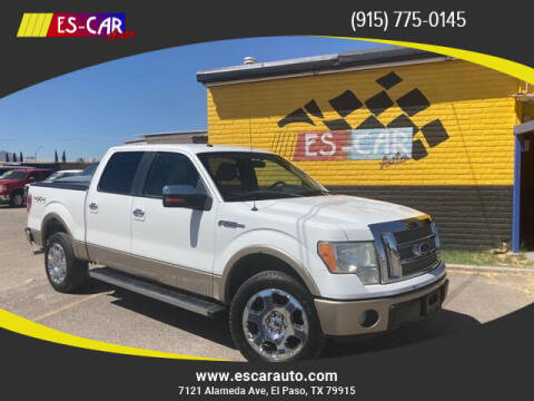 2011 Ford F-150 for sale at Escar Auto - 9809 Montana Ave Lot in El Paso TX