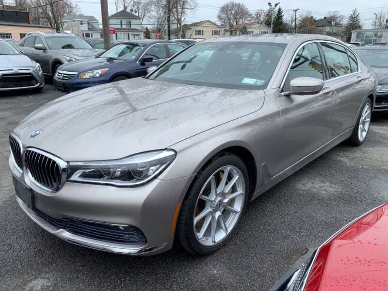2017 BMW 7 Series for sale at SILVER ARROW AUTO SALES CORPORATION in Newark NJ