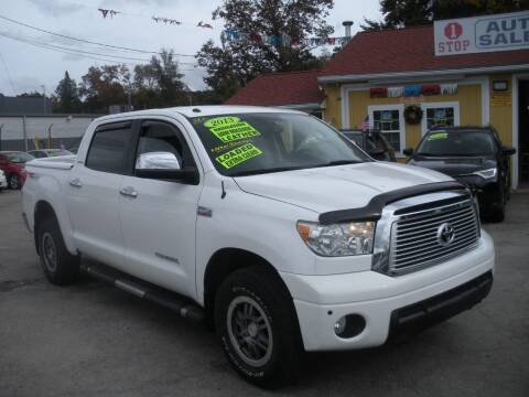 2013 Toyota Tundra for sale at One Stop Auto Sales in North Attleboro MA