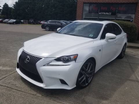 2014 Lexus IS 350 for sale at Pinnacle Acceptance Corp. in Franklinton NC
