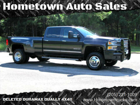 2015 Chevrolet Silverado 3500HD for sale at Hometown Auto Sales - Trucks in Jasper AL