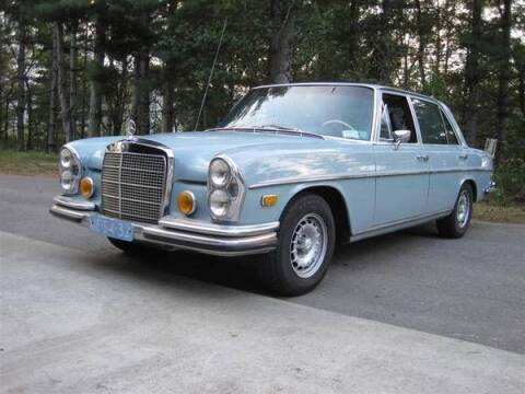 1972 Mercedes-Benz 280-Class for sale at Classic Car Deals in Cadillac MI
