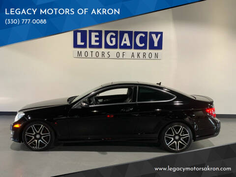 2013 Mercedes-Benz C-Class for sale at LEGACY MOTORS OF AKRON in Akron OH