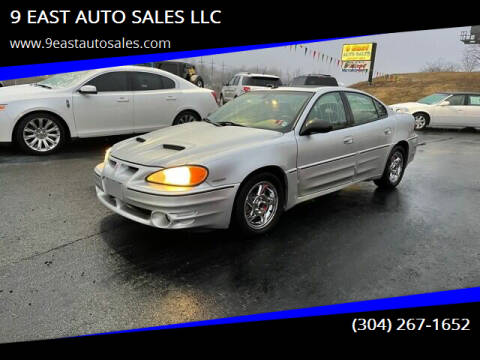 2003 Pontiac Grand Am for sale at 9 EAST AUTO SALES LLC in Martinsburg WV