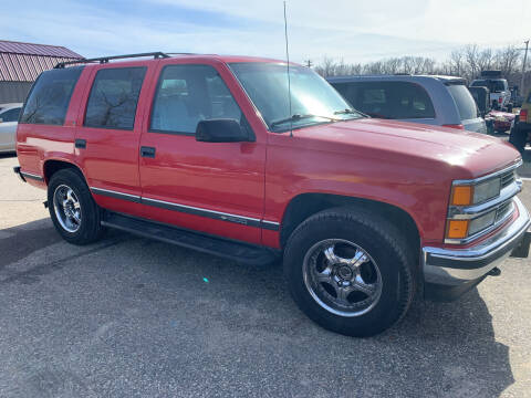 1996 Chevrolet Tahoe for sale at 51 Auto Sales Ltd in Portage WI