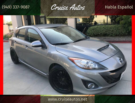 2010 Mazda MAZDASPEED3 for sale at Cruise Autos in Corona CA