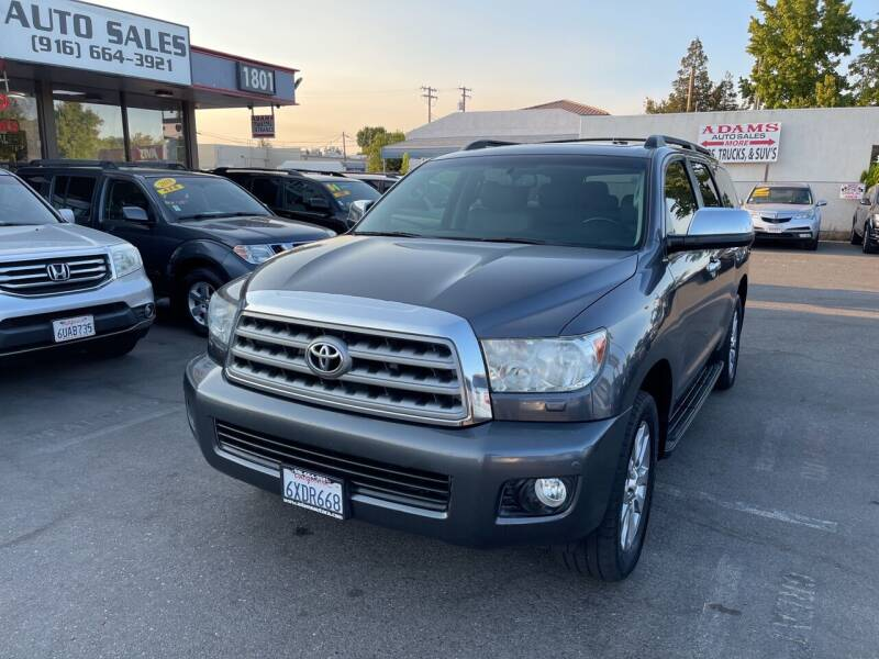 2012 Toyota Sequoia for sale at Adams Auto Sales in Sacramento CA